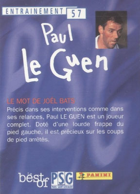 N° 057 - Paul LE GUEN (Verso)