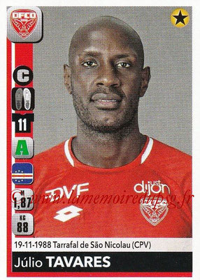 2018-19 - Panini Ligue 1 Stickers - N° 121 - Julio TAVARES (Dijon)