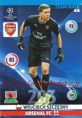 2014-15 - Adrenalyn XL champions League N° 046 - Wojciech SZCZESNY (Arsenal FC)