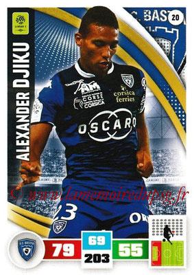 2016-17 - Panini Adrenalyn XL Ligue 1 - N° 020 - Alexander DJIKU (Bastia)