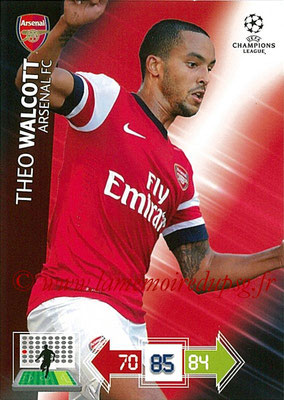 2012-13 - Adrenalyn XL champions League N° 023 - Théo WALCOTT (Arsenal FC)