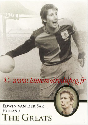 2013 - Futera World Football Unique - N° 119 - Edwin VAN DER SAR (Pays Bas) (The Greats)