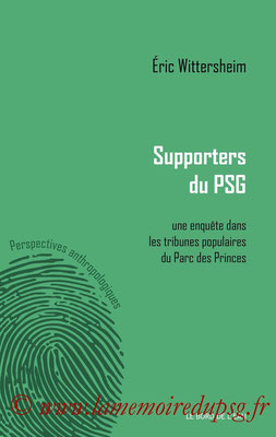 2014-11-14 - Supporters du PSG (Editions le bord de l'eau, 155 pages)