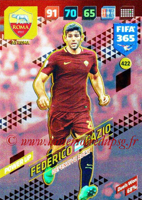 2017-18 - Panini FIFA 365 Cards - N° 422 - Federico FAZIO (AS Roma) (Defensive Rock)