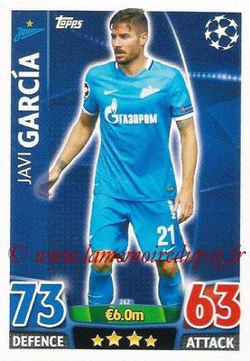 2015-16 - Topps UEFA Champions League Match Attax - N° 262 - Javi GARCIA (FC Zenit)