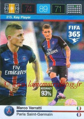 N° 215 - Marco VERRATTI (Key Player)