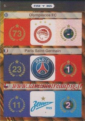 N° 009 - Logo et Palmarès Paris Saint-Germain