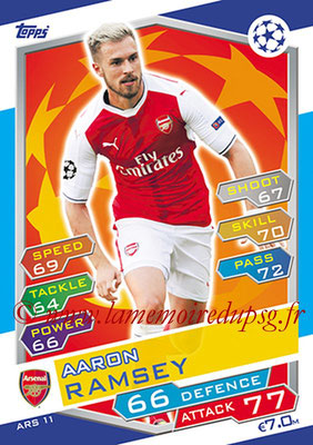 2016-17 - Topps UEFA Champions League Match Attax - N° ARS11 - Aaron RAMSEY (Arsenal FC)