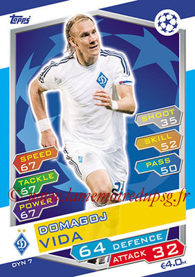 2016-17 - Topps UEFA Champions League Match Attax - N° DYN7 - Domagoj VIDA (FC Dynamo Kiev)