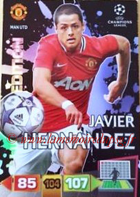 2011-12 - Panini Champions League Cards - N° LE30 - Javier HERNANDEZ (Manchester United FC) (Limited Edition)