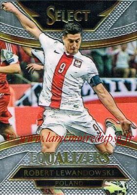 2015 - Panini Select Soccer - N° E14 - Robert LEWANDOWSKI (Pologne) (Equalizers)