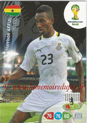 2014 - Panini FIFA World Cup Brazil Adrenalyn XL - N° 171 - Harrison AFFUL (Ghana)