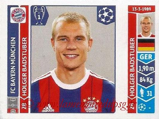 2014-15 - Panini Champions League N° 359 - Holger BADSTUBER (FC Bayern Munich)