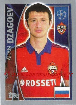 2015-16 - Topps UEFA Champions League Stickers - N° 127 - Alan DZAGOEV(CSKA Moscou)