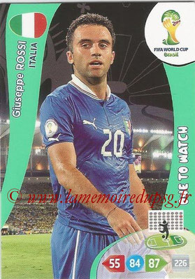 2014 - Panini FIFA World Cup Brazil Adrenalyn XL - N° 219 - Giuseppe ROSSI (Italie) (One to watch)