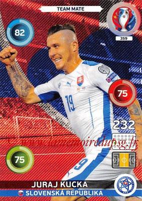 Panini Euro 2016 Cards - N° 359 - Juraj HUCKA (Slovenie)