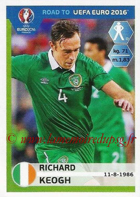 Panini Road to Euro 2016 Stickers - N° 148 - Richard KEOGH (Eire)