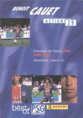 N° 029 - Benoit CAUET (Verso)