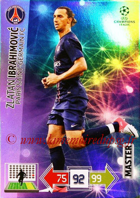 2012-13 - Adrenalyn XL champions League N° 342 - Zlatan IBRAHIMOVIC (Paris Saint-Germain) (Master