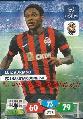 2013-14 - Adrenalyn XL champions League N° 260 - Luiz ADRIANO (FC Shakhtar Donetsk)