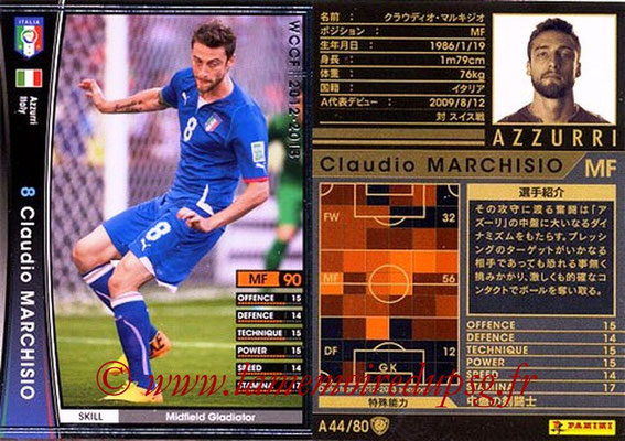 2012-13 - WCCF - N° A44 - Claudio MARCHISIO (Italie)