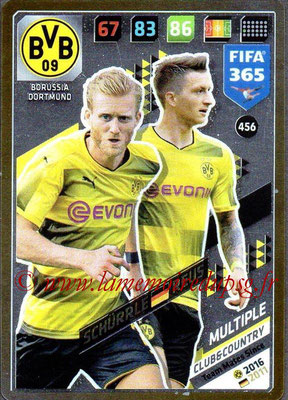 2017-18 - Panini FIFA 365 Cards - N° 456 - André SCHÜRRLE + Marco REUS (Borussia Dortmund) (Club & Country)