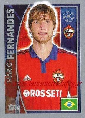 2015-16 - Topps UEFA Champions League Stickers - N° 121 - Mario FERNANDES (CSKA Moscou)