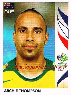 2006 - Panini FIFA World Cup Germany Stickers - N° 429 - Archie THOMPSON (Australie)