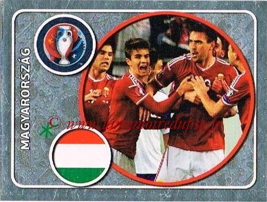 Panini Euro 2016 Stickers - N° 575 - Équipe de Hongrie