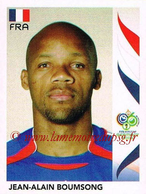 2006 - Panini FIFA World Cup Germany Stickers - N° 457 - Jean-Alain BOUMSONG (France)