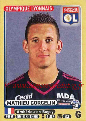2015-16 - Panini Ligue 1 Stickers - N° 194 - Mathieu GORGELIN (Olympique Lyonnais)