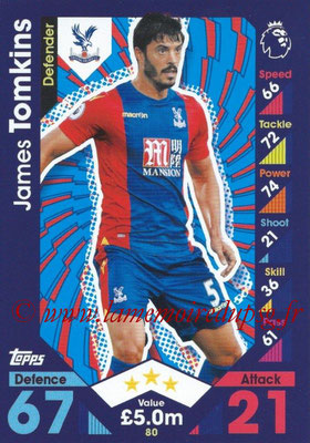 2016-17 - Topps Match Attax Premier League - N° 080