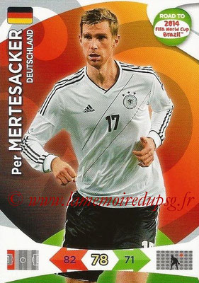 2014 - Panini Road to FIFA World Cup Brazil Adrenalyn XL - N° 049 - Per MERTESACKER (Allemagne)