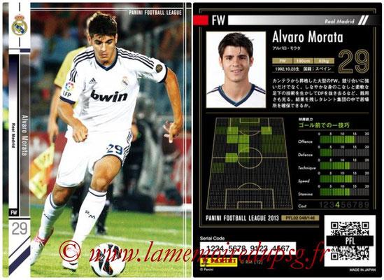 Panini Football League 2013 - PFL02 - N° 048 - Alvaro Morata ( Real Madrid )