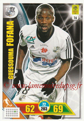 2017-18 - Panini Adrenalyn XL Ligue 1 - N° 016 - Guessouma FOFANA (Amiens)