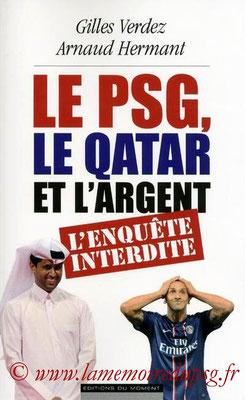 2013-01-24 - PSG, le Qatar et l'argent (Editions du moment, 256 pages)