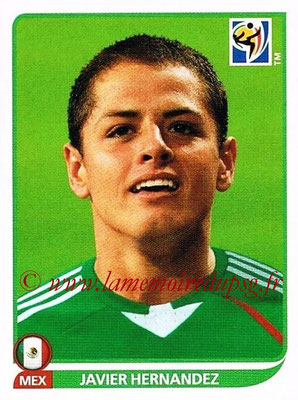 2010 - Panini FIFA World Cup South Africa Stickers - N° 064 - Javier HERNANDEZ (Méxique)