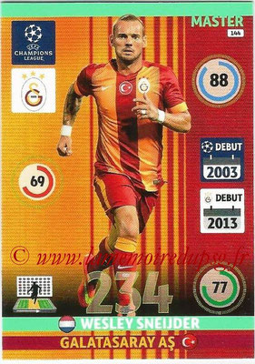 2014-15 - Adrenalyn XL champions League N° 144 - Wesley SNEIJDER (Galatasaray AS) (Master)