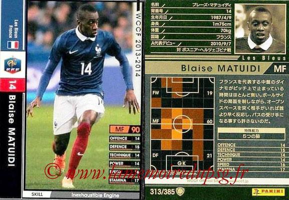 N° 313 - Blaise MATUIDI (France)