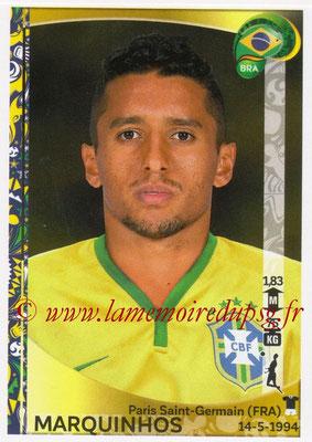 Panini Copa America Centenario USA 2016 Stickers - N° 120 - MARQUIHNOS (Brésil)