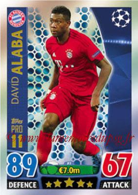 2015-16 - Topps UEFA Champions League Match Attax - N° P07 - David ALABA (FC Bayern Munich) (Pro 11)