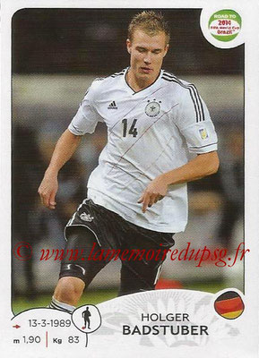 2014 - Panini Road to FIFA World Cup Brazil Stickers - N° 041 - Holger BADSTUBER (Allemagne)