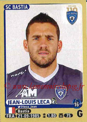 2015-16 - Panini Ligue 1 Stickers - N° 051 - Jean-Louis LECAS (SC Bastia)