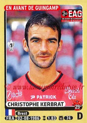 2015-16 - Panini Ligue 1 Stickers - N° 129 - Christophe KERBRAT (EA Guingamp)