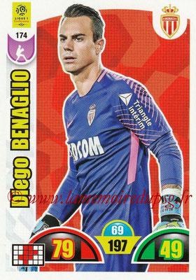 2018-19 - Panini Adrenalyn XL Ligue 1 - N° 174 - Diego BENAGLIO (Monaco)