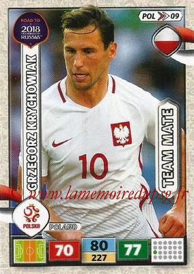 N° POL09 - Grzegorz KRYCHOWIAK (2016-??, PSG > 2017, Pologne)