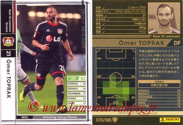 2013-14 - WCCF - N° 070 - Omer TOPRAK (Bayer 04 Leverkusen)