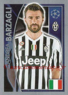 2015-16 - Topps UEFA Champions League Stickers - N° 239 - Andrea BARZAGLI (Juventus FC)