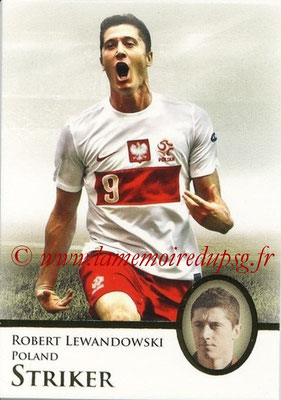 2013 - Futera World Football Unique - N° 084 - Robert LEWANDOWSKI (Pologne) (Striker)