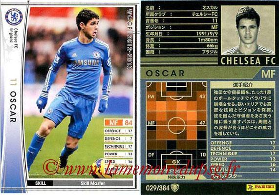 2012-13 - WCCF - N° 029 - OSCAR (Chelsea FC)